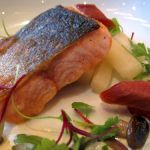 Arctic Char with White Asparagus