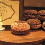 Chocolate Fleur de Sel Cookies