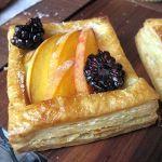 Peach Blackberry Tart