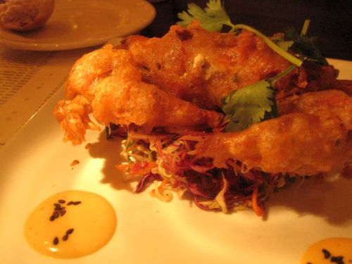 Soft Shell Crab Tempura Baker and Banker