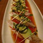 Seared Black Sea Bream, avocado, jalepeno-ponzu sauce