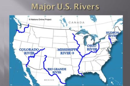 major rivers and mountains in united states