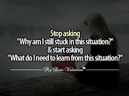 Learn from the situation