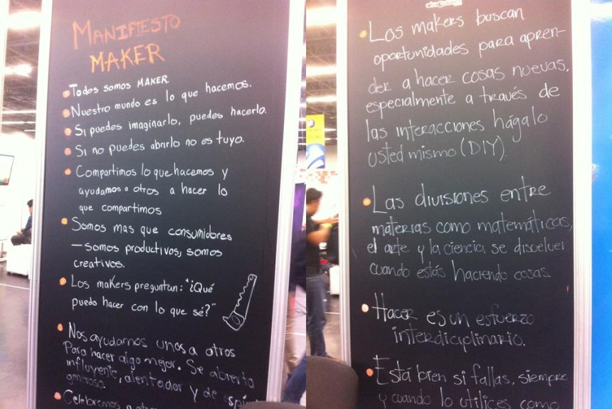 Manifiesto Maker en Campus Party