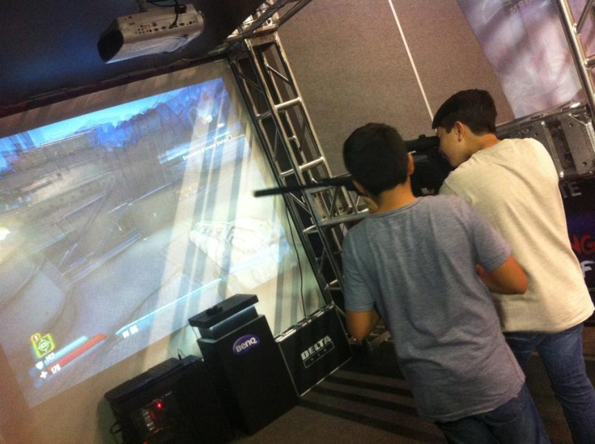 Stand Shooters en Campus Party 2015