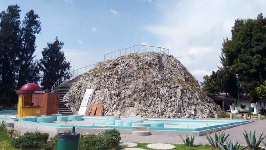 Volcán (Geiser) Cuexcomate en Puebla, Puebla