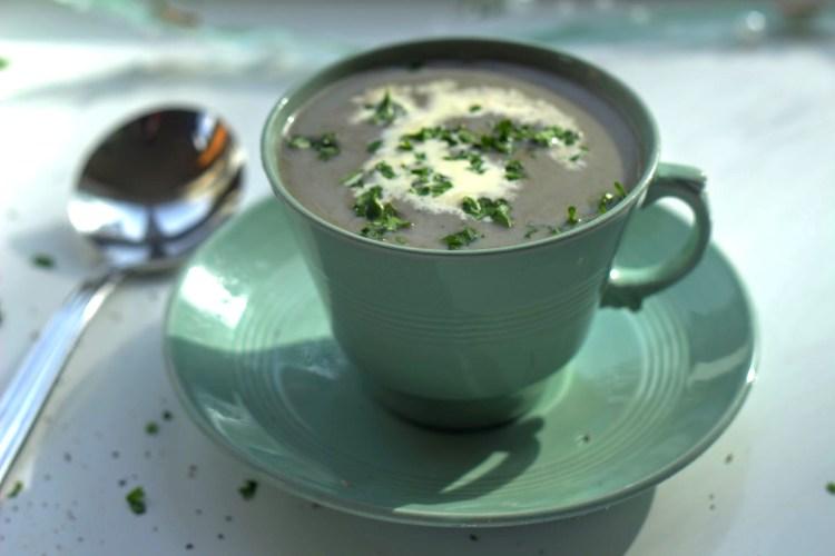 Cream of Wild Mushroom Soup