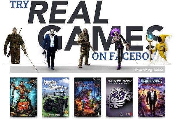 Gaikai brings its cloud gaming to Facebook, launches beta application