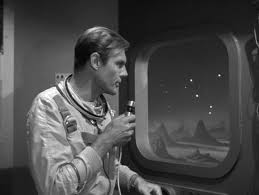 "Adam West in The Outer Limits episode, ""The Invisible Enemy."""