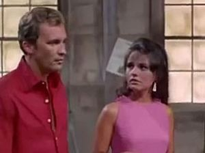 """Dawn Wells in The Invaders episode, """"Dark Outpost."""""""