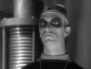 Rex Holman in The Outer Limits episode, Demon with a Glass Hand. This is slated to become a motion picture soon.