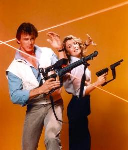 Marc Singer in V. Don't you just love the cheesy 80s pub photos.