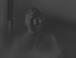 Kay E. Kuter as the Limbo Being in The Outer Limits episode, The Premonition.