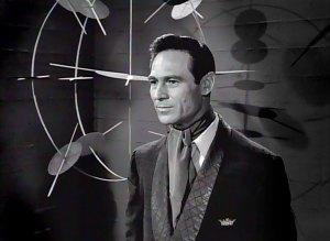 Joseph Wiseman in the Twilight Zone episode, One More Palbearer.