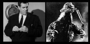 Raymond Burr in Godzilla