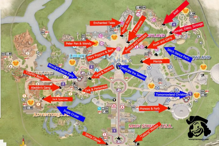 Walt Disney World Magic Kingdom Map Printable.Walt Disney World Maps ...