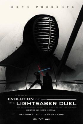 Evolution of the lightsaber duel