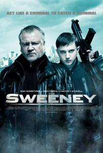 The Sweeney Movie Poster - Ray Winstone as Detective Inspector Jack Regan and singer and actor Ben Drew aka Plan B as George Carter