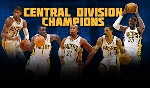 The Pacers won the NBA Central Division for the fifth game since entering the NBA for the 1977 season.