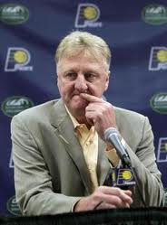 Larry Bird never wore a suit as easily as the Celtics green and white, but he drafted with the same excellence as he played.