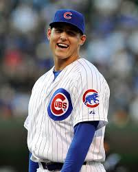 Cubs First Baseman Anthony Rizzo has $41-million more reasons to smile today.