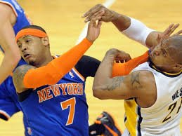 Carmelo Anthony needs to get physical is the Knicks are going to win Game Four.