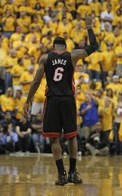 LeBron James will have to put the Heat on his back to repeat as champions.