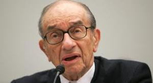 This is Alan Greenspan, perhaps a distant cousin, who got the brains in the family.