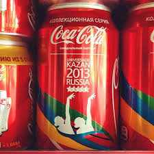 It appears by the logo on the can, that plenty of Coke will be available for Yogi, Will, and the rest of Team USA.  With the eight hour time difference, they will need it.