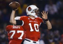 Ball State quarterback Keith Wenning