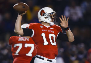 Ball State quarterback Keith Wenning