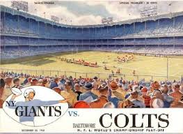 55 years after the greatest game ever played, the Colts and Giants will play a disposable preseason game.