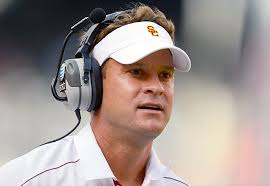 No word on whether former USC coach Lane Kiffin was told to turn in his visor as he was escorted from the team bus.