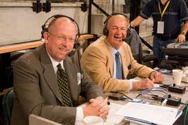 Mark Boyle (left, with Bob 'Slick' Leonard) has been calling Pacers games for almost 25 years, and asking honest questions for longer.