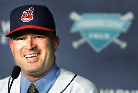 This picture was snapped when Manny Acta was named manager of the Cleveland Indians and he still knew how to smile.  If three years of losing in Cleveland didn't paralyze his face into a frown, one season in Chicago will finish the job.