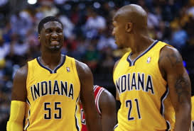 Roy Hibbert and David West anchor the front court that will need to stay healthy for the Indiana Pacers to reach their potential - and win an NBA Championship.