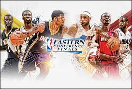 Last year's graphic will likely work just fine for the 2014 NBA Eastern Conference Finals.