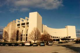 Assembly Hall's south entrance won't look much like this in 2016 after the completion of the $40 million renovation.