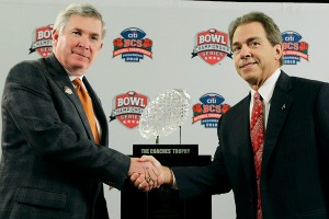 Mack Brown and Nick Saban - who thought it would come to this?