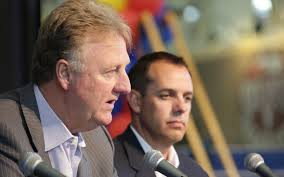 Larry Bird and Frank Vogel know what the problem is, but can they get it fixed in time to give the Pacers a chance to get past the Atlant Hawks.