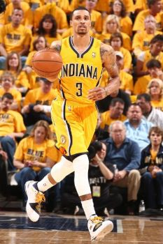 George Hill's hot start was key to the Pacers asserting their will in Game One.