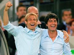Jurgen Klinsmann and Jurgen Low were compatriots for years.  Today is not the time to become rivals.