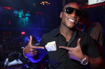 You want to fill women beater Floyd Maywether's pockets with your cash, go ahead.  I'm keeping my $100 bill in my pocket.