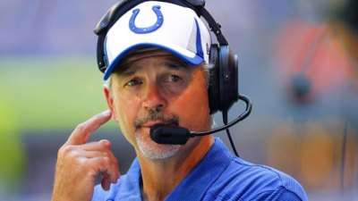 "Chuck Pagano called himself a ""dumbass"" yesterday after calling timeout to freeze Jags kicker Jason Myers, but it worked out."