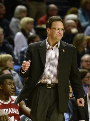 Tom Crean hopes in vain last night that his Hoosiers can find a way to beat a far less talented Penn State team.