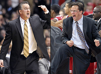 Matt Painter and Tom Crean both need a win for their programs tomorrow night. Can't wait.