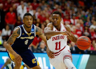 Yogi Ferrell posted his first 20/10 game at a good time for the Hoosiers who will play Kentucky tomorrow.