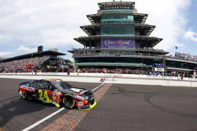 Jeff Gordon was thought to have won his final Brickyard 400 in 2014.  Not so fast!