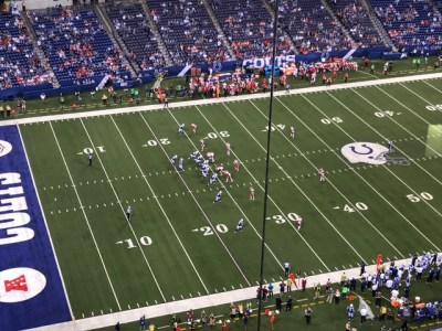 Today's Colts loss was best viewed from a distance to avoid the stench.
