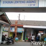 Jadwal KRL di Stasiun Lenteng Agung, Jakarta Selatan